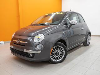 Used 2014 Fiat 500 LOUNGE TOIT SIÈGES CHAUFFANTS *CUIR* for sale in Mirabel, QC