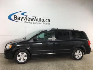 Used 2017 Dodge Grand Caravan CVP/SXT - DUAL A/C! ALLOYS! PRIVACY & MORE! for sale in Belleville, ON
