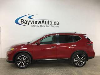 Used 2017 Nissan Rogue SL Platinum - AWD! HTD LEATHER! NAV! PANOROOF! 360° CAMERA! LOADED! for sale in Belleville, ON