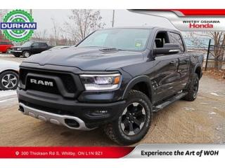 Used 2020 RAM 1500 Rebel 4x4 Crew Cab 5'7  Box for sale in Whitby, ON