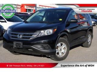 Used 2014 Honda CR-V AWD 5dr LX for sale in Whitby, ON