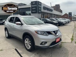 Used 2015 Nissan Rogue SV - AWD - Panoramic Power Sun Roof - No Accidents - Excellent Condition for sale in North York, ON