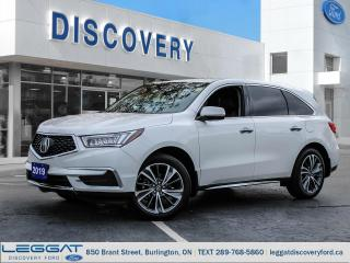 Used 2019 Acura MDX Tech for sale in Burlington, ON