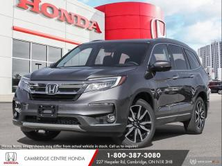 New 2021 Honda Pilot Touring 8P APPLE CARPLAY™ & ANDROID AUTO™ | IDLE STOP | GPS NAVIGATION for sale in Cambridge, ON