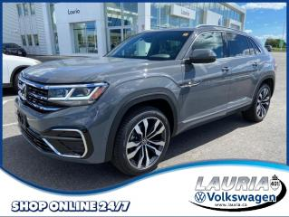 New 2021 Volkswagen Atlas Cross Sport 3.6 FSI Execline R-Line 4Motion AWD for sale in PORT HOPE, ON
