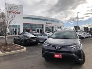 Used 2016 Toyota RAV4 FWD LE UPGRADE - 4 NEW TIRES - HEATED FRONT SEATS for sale in Stouffville, ON
