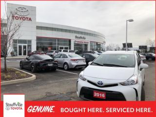 Used 2016 Toyota Prius V PRIUS LUXURY PACKAGE - RUSTPROOFED - NAVIGATION for sale in Stouffville, ON