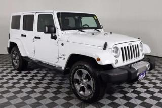 Used 2018 Jeep Wrangler JK Unlimited Sahara 2 SETS OF WHEELS - WINTERS & SUMMERS for sale in Huntsville, ON