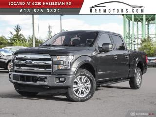 Used 2016 Ford F-150 Lariat LARIAT | 6.5' BOX | CREW CAB for sale in Stittsville, ON