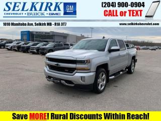 Used 2018 Chevrolet Silverado 1500 2LT  *REMOTE START, HTD SEATS* for sale in Selkirk, MB