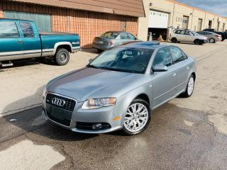 Used 2008 Audi A4 2.0T | S LINE | LOW KM | NO ACCIDENTS for sale in Burlington, ON