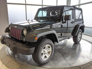 Used 2015 Jeep Wrangler One Owner - Excellent Condition! for sale in Edmonton, AB