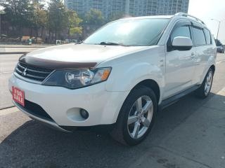 Used 2009 Mitsubishi Outlander XLS-4X4-SUNROOF-LEATHER-NAVI-BK UP CAM-BLUETOOTH for sale in Scarborough, ON