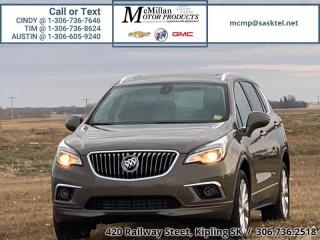 Used 2018 Buick Envision Premium  2.0L 14 TURBO,AWD,HEATED LEATHER SEATS,NA for sale in Kipling, SK