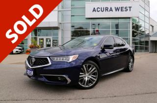 Used 2018 Acura TLX Elite for sale in London, ON