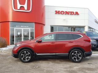 Used 2018 Honda CR-V Touring One Owner - Locally Owned for sale in Winnipeg, MB