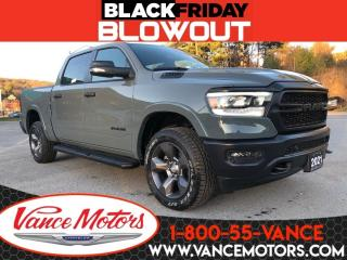 New 2021 RAM 1500 Built to Serve 4x4...NAV*HTD SEATS*REMOTE START! for sale in Bancroft, ON