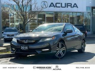Used 2016 Honda Accord Coupe L4 Touring CVT for sale in Markham, ON