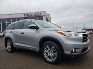 Used 2015 Toyota Highlander XLE for sale in Fredericton, NB