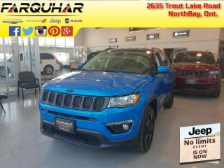 Used 2021 Jeep Compass Altitude - Navigation -  Leather Seats - $214 B/W for sale in North Bay, ON