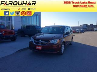 Used 2018 Dodge Grand Caravan Canada Value Package - $138 B/W for sale in North Bay, ON