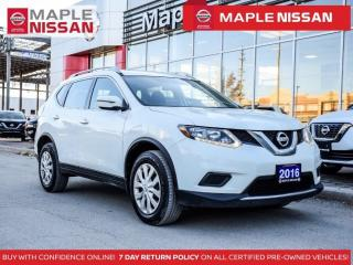 Used 2016 Nissan Rogue S AWD Bluetooth Backup Camera Keyless Entry for sale in Maple, ON