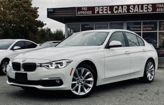 Used 2017 BMW 3 Series 320i xDrive|TEXT.US|647.678.7778| NAVI|SUNROOF|LEATHER| for sale in Mississauga, ON