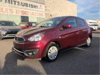 Used 2017 Mitsubishi Mirage 4dr HB CVT ES PLUS, AIR CLIMATISÉ, BLUETOOTH, AUTO for sale in St-Hubert, QC