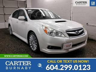 Used 2011 Subaru Legacy 2.5 GT Bluetooth - Parking Camera - Navigation - Sunroof for sale in Burnaby, BC