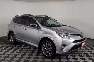 Used 2017 Toyota RAV4 Limited CLEAN CARFAX! AWD, NAVIGATION, LEATHER, SUNROOF for sale in Huntsville, ON