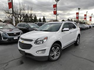 Used 2017 Chevrolet Equinox Premier CLEAN HISTORY! | NAVIGATION! for sale in Burlington, ON