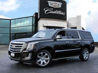 Used 2018 Cadillac Escalade ESV Luxury ONE OWNER! | CLEAN HISTORY! for sale in Burlington, ON