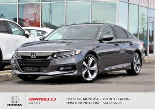 Used 2018 Honda Accord Touring 1.5L TURBO CUIR NAVI CUIR NAVI TOIT 1.5 TURBO for sale in Lachine, QC
