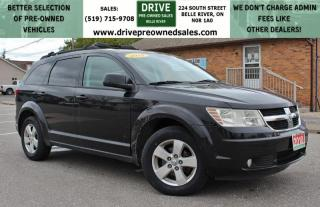 Used 2010 Dodge Journey SXT No Accidents | No Rust | Heated Seats Roof Rack Cruise Control Low K's for sale in Belle River, ON