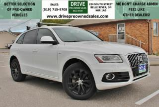 Used 2014 Audi Q5 2.0 Technik TECHNIK | FULLY LOADED | AWD Heated Leather Moon Roof Bluetooth Backup Cam Nav for sale in Belle River, ON