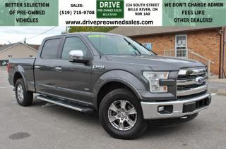 Used 2015 Ford F-150 Lariat LARIAT FX4 OFFROAD | 4x4 Heated Leather Bluetooth Backup Cam | NO ACCIDENTS for sale in Belle River, ON