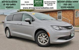 Used 2017 Chrysler Pacifica LX  | NO ACCIDENTS | Low K's Bluetooth 3rd Row Stow N Go for sale in Belle River, ON