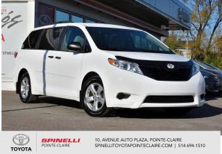 Used 2015 Toyota Sienna CE for sale in Pointe-Claire, QC