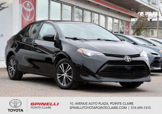 Used 2017 Toyota Corolla LE UPGRADE for sale in Pointe-Claire, QC