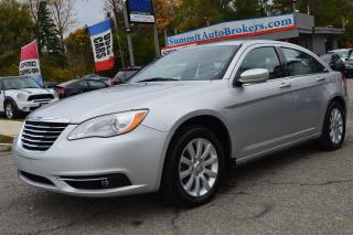 Used 2012 Chrysler 200 Touring for sale in Richmond Hill, ON
