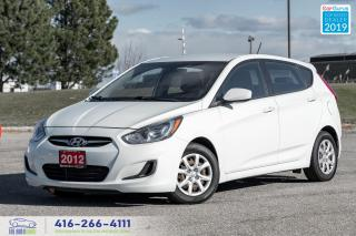 Used 2012 Hyundai Accent GL Clean Carfax Maintenance records  for sale in Bolton, ON