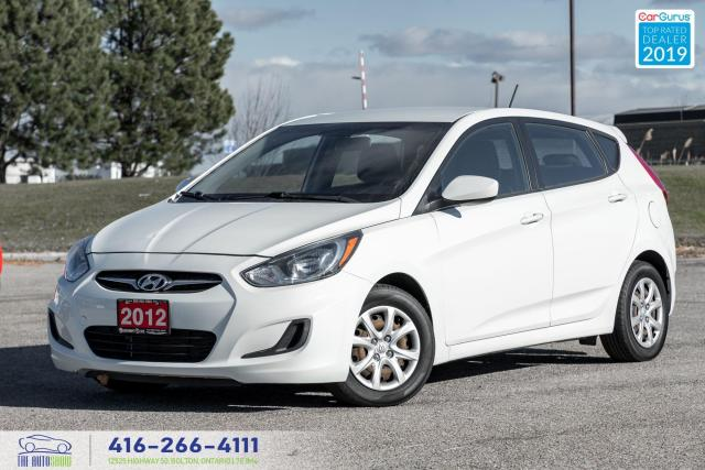 2012 Hyundai Accent GL Clean Carfax Maintenance records 