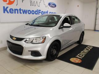 Used 2018 Chevrolet Sonic FUEL EFFICIENT| 2 SETS OF TIRES | EASY ON THE WALLET | EASY ON THE EYES | for sale in Edmonton, AB