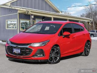 Used 2019 Chevrolet Cruze LT,RS PKG,REMOTE START,R/V CAM,H/SEATS,B.TOOTH for sale in Orillia, ON