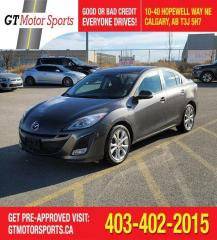Used 2010 Mazda MAZDA3 GT I $0 DOWN - EVERYONE APPROVED! for sale in Calgary, AB