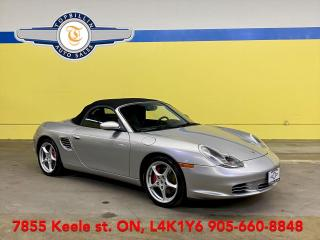 Used 2003 Porsche Boxster S 6 Speed Manual, Clean CarFax for sale in Vaughan, ON