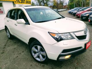 Used 2012 Acura MDX Tech pkg/AWD/NAVI/REAR CAMERA/BT/ENTERTAINMENT SYS for sale in Scarborough, ON