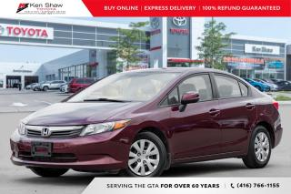 Used 2012 Honda Civic for sale in Toronto, ON
