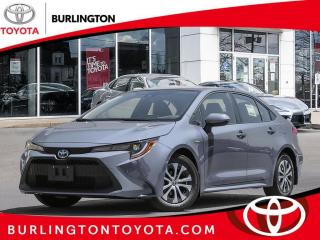 New 2021 Toyota Corolla Hybrid CVT w-Li Battery for sale in Burlington, ON