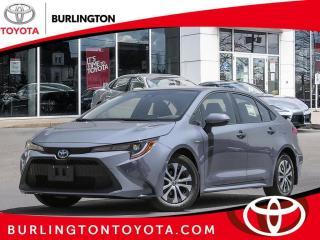 New 2021 Toyota Corolla Hybrid CVT w-Li Battery for sale in Burlington, ON
